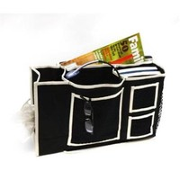 Florida Brands FB-FB2174 3 Pocket Bedside Caddy with Tissue Box Holder - Walmart.com