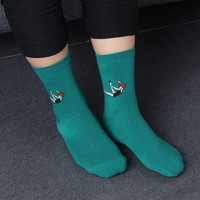 2017 Women Girls Harajuku chaussette Style Socks Colorful Casual Pill Star Patterned Sock Cartoon Hip Hop Socks Calcetines