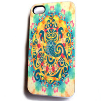 Cool iPhone 4 / 4S Case Unique Phone Cases - Ganesha Trendy and Pretty iPhone Cases