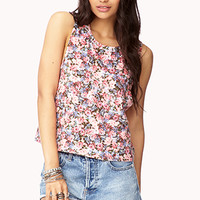Garden Floral Muscle Tee | FOREVER 21 - 2000128099