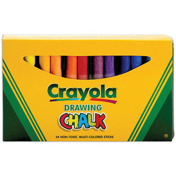 Crayola Drawing Chalk - 24-Pack