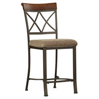 """Darby Home Co Wilsonville 24"""" Bar Stool with Cushion"""