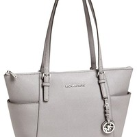 Women's MICHAEL Michael Kors 'Jet Set' Leather Tote