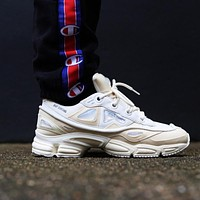 Raf Simons x Adidas Consortium Ozweego 2 III Retro Sport Smart Running Shoes Bunny Cream Trainers Shoes S81161