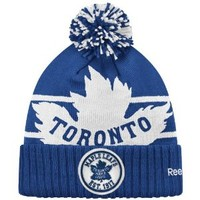 Toronto Maple Leafs 2014 NHL Winter Classic Goalie Knit Hat Size One Size
