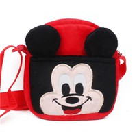 Boys bookbag trendy Zshop Famous Game Mario  for Kids 1 to 3 Year Old Single Shoulder Bag Soft Sling bag AT_51_3