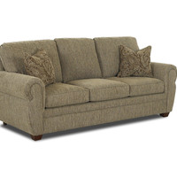 Klaussner Cactus Westbrook Sofa, 81 by 37 by 35-Inch
