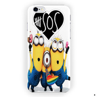 Despicable Me Minion 5Sos Band For iPhone 6 / 6 Plus Case