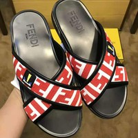 Fendi Fashion Casual Slipper Shoes