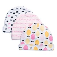 Rosie Pope® Size 0-9M 3-Pack Summer Girl Caps