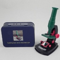 Build Your Own Microscope In A Tin