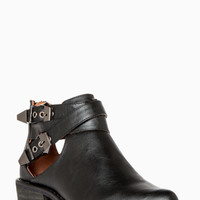 DailyLook: Cutout Ankle Boots