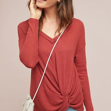 Knotted Waffle Top