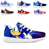 Sonic Children's Shoes Sneakers for Children SIZE 1.5-13