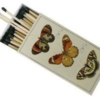Amazon.com: Botanical Butterfly European Design Large Decorative Matches, Pack of 3: Kitchen & Dining: Reviews, Prices & more
