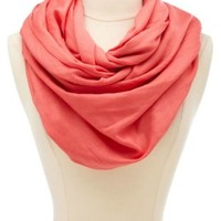 Solid Woven Pashmina Infinity Scarf by Charlotte Russe