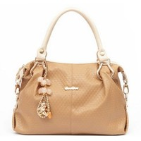 Fashion Romantic Sweet Classic Graceful All-matching Shoulder Bag Crossbody Tote