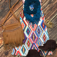Azteca Tunic Dress