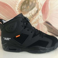 Nike AIR Jordan 6 sports men's shoes