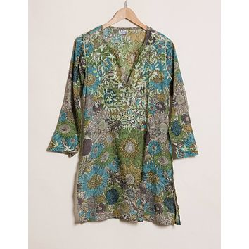 Indira Tunic - Jungle - Small and Large Only
