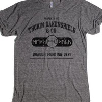 Thorin Oakenshield and company Dragon fighting department-T-Shirt