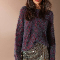 Silence + Noise Zoe Fuzzy Dolman Sweater | Urban Outfitters