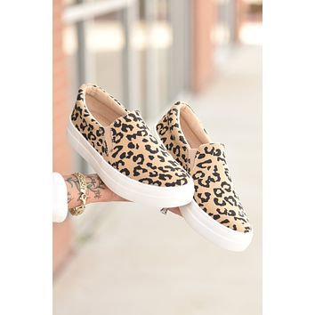 Falling For You Slip On - Leopard