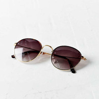 Madeline Metal Round Sunglasses - Urban Outfitters