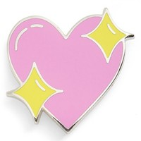 Big Bud Press 'Sparkle Heart' Pin | Nordstrom