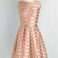 Dinner and Romancing Dress in Blush