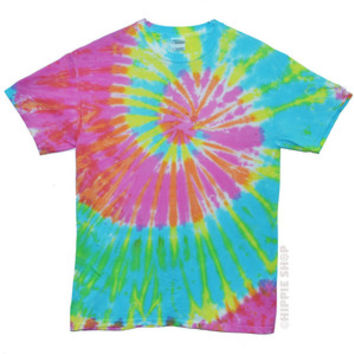 Pastel Spinner Tie Dye T Shirt on Sale for $18.95 at HippieShop.com