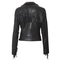 Scoop: Fringe Leather Jacket