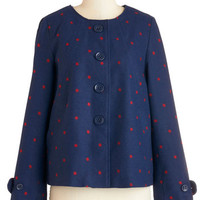 Tulle Clothing Vintage Inspired Mid-length Long Sleeve Forum an Opinion Jacket