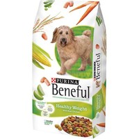 Purina Beneful Healthy Weight With Real Chicken Dog Food 15.5 lb. Bag - Walmart.com