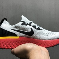 SPBEST Nike Epic React Flyknit 2018 Grey Red