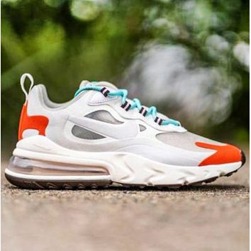 Nike Air Max 270 React Fashion New Women Men Sports Leisure Running Shoes