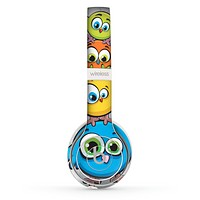 The Tower of Highlighted Cartoon Birds Skin Set for the Beats by Dre Solo 2 Wireless Headphones