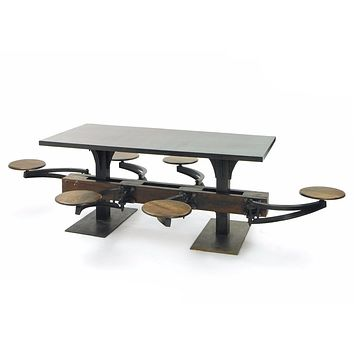 Large Dining Table For 6 by Go Home Ltd. 12521