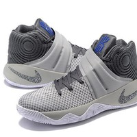 Nike Kyrie Irving 2 Wolf Gray Basketball Shoe