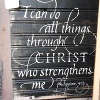 Sign: I can do all things