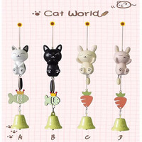 Cats Rabbit Cartoons Pastoral Style Creative Gifts Home Decor [6281748038]