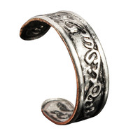 Vintage Silver Carving Patterns Toe Ring