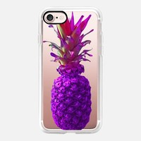 Atomic Purple Pineapple iPhone 7 Case by Lisa Argyropoulos | Casetify