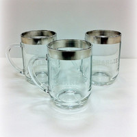Dorothy Thorpe Silver Band Personalized by vintage19something