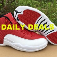 Nike Air Jordan 12 XII Retro Gym Red Alternate 130690-600
