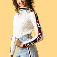 Badsport Mock Neck