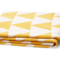 d Throw, Yellow, Decorative Pillows