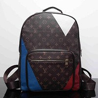 LV Women Casual School Bag Cowhide Leather Backpack I-MYJSY-BB Tagre™