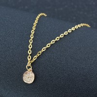 Gift Stylish New Arrival Shiny Jewelry Accessory Pendant Simple Design Vintage Necklace [6464824577]