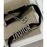 Dior Popular Women Fashion Letter Necklace Jewelry Accessories